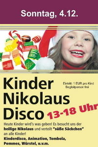 Kindernikolaus - Disco