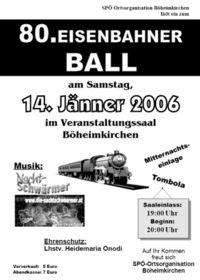 80. Eisenbahnerball@Festsaal