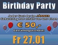 50€ Birthday Party