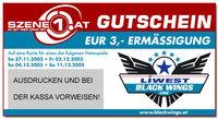 Liwest Black Wings Vs. RB Salzburg@Donaupark Eishalle