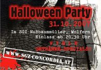 Halloween Party@SGZ Nußbaummüller