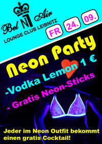 Neon Party@Discoteca Number One