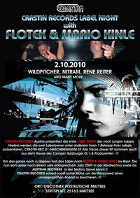 Crastin Records Label Night with  Flotek & Mario Kinle@Disco Postkutsche