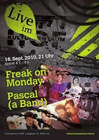 Freak on Monday@Kulturzentrum HOF