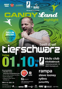 Candy Land Highlight - Tiefschwarz