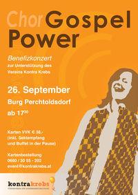 Gospel Power - Benefizkonzert@Burg Perchtoldsdorf
