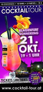 2. Cocktailtour durch Klagenfurt@80´s
