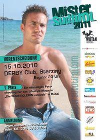 Mister Südtirol 2011 Vorentscheidung@Derby Stodl