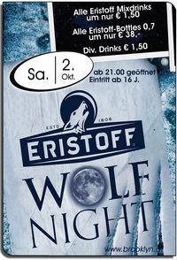 Eristoff Wolf Night@Brooklyn