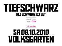 Tiefschwarz@Volksgarten Clubdisco