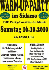 Warm-Up-Party@Cafe Sidamo Mank