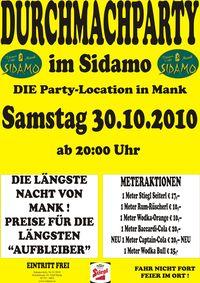 Durchmachparty@Cafe Sidamo Mank