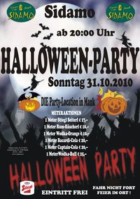 Halloween Party@Cafe Sidamo Mank
