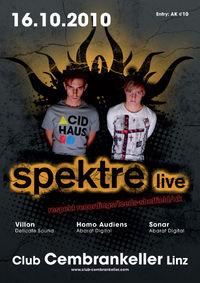 Spektre live@Cembran