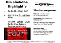 Jahres Feier@Sebingers Kellerbar