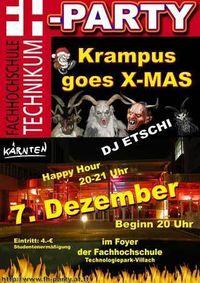 Krampus goes X-Mas@Fachhochschule Kärnten