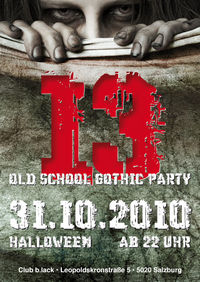 13 - Old School Gothic Party – Halloween@b.lack