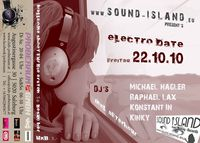 SOUND ISLAND´s electro date
