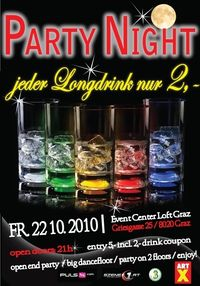Longdrink Special Night@Loft Graz