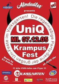 Almdudler presents UniQ-Krampusfest