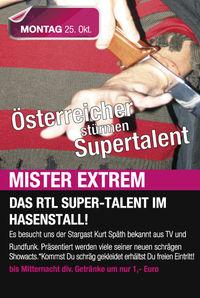 Österreicher stürmen Supertalent@Hasenstall