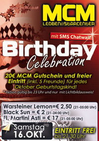 Birthday Celebration! @MCM Leoben