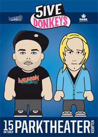 5ive Donkeys: The Drunken Masters@Parktheater Kempten