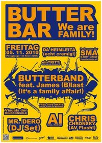 Butterbar - We are Family@Postgarage