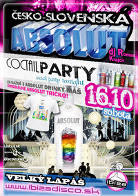 S Absolut CoctailParty