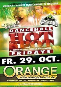 Dancehall -Friday Hot Spot@Orange Club
