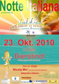Notte Italiana@Kulturzentrum BIERSTINDL Innsbruck