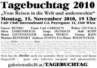 Tagebuchtag 2010@Cafe Club International C.I.