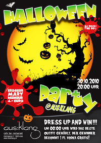 Halloween Party @ ausklang
