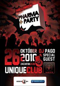 Halloween Pharma Party@Unique club