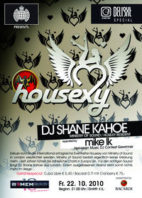 Ministry of Sound presents Housexy@REMEMBAR