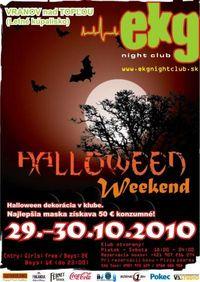 Halloween Weekend@EKG Night Club
