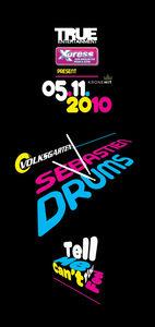 True pres. Sebastien Drums@Volksgarten Clubdisco