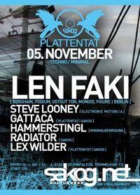 Plattentat | Len Faki@Kulturwerk Sakog