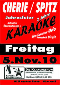 Karaoke Jahresfeier