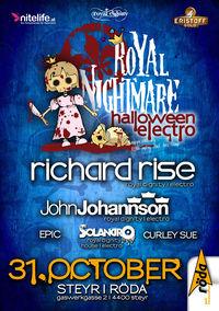 Royal Nightmare - Halloween Electro@KV Röda