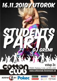 Students party@Cotton Club