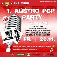 1. Austropop Party@The Cube Disco