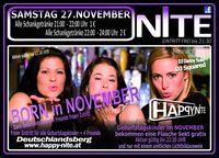 Born in November@Happy Nite
