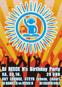 DJ REECE H's Birthday Party@Sky Lounge