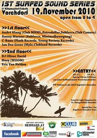 Surfed Sound Series VOL.1@Kitzmantelfabrik