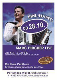 Marc Pircher live@Partymaus Wörgl