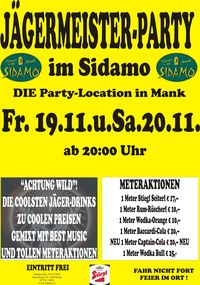 Jägermeister Party@Cafe Sidamo Mank