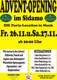 Advent Opening@Cafe Sidamo Mank