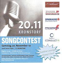 Songcontest@Josef-Heiml-Halle