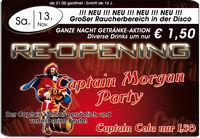 Re-opening & Captain Morgan Party@Brooklyn